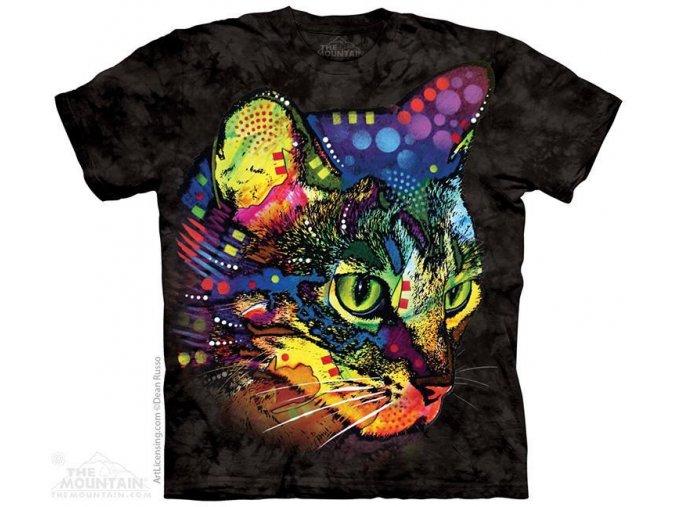 Tričko Barevná kočička - Dean Russo