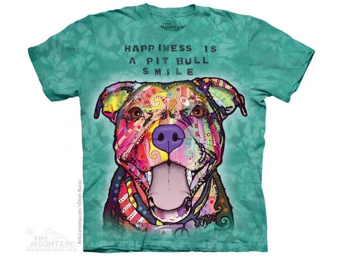 Tričko Usmívající se pitbull - 2017