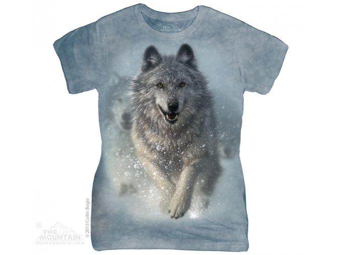 Tričko Vlk - Dámské