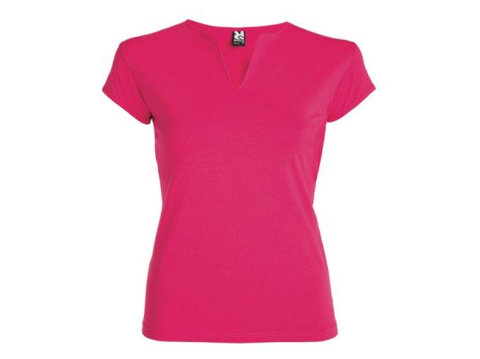 Dámské Tričko Růžové
