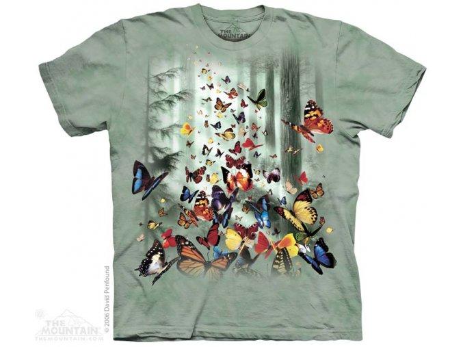 Tričko motýli - Butterflies
