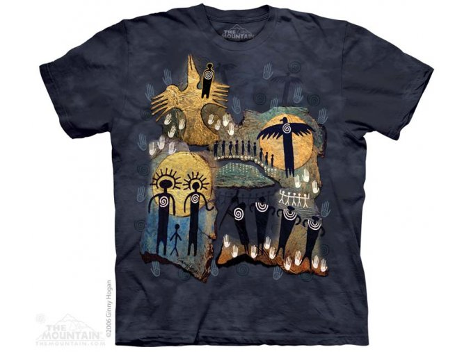 Tričko Domorodé umění