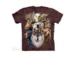 Tričko Zvířata