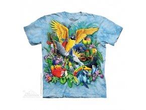 Tričko Papoušci