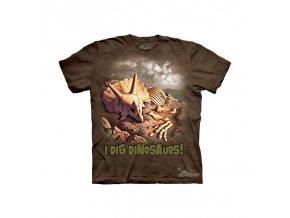 Tričko Kostra Dinosaura - Dětské