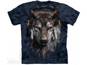 Tričko Vlk DJ - Dětské