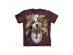 Tričko Lesní Zvěř - Dětské