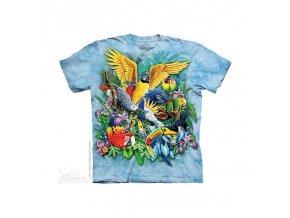 Tričko papoušci - Dětské