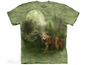 Tričko Vlčí duch lesa
