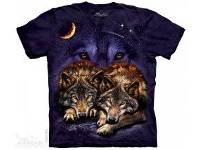 Tričko ležící vlci