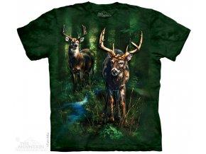 Tričko Jeleni v lese
