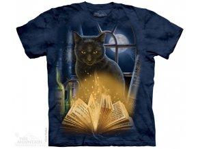 Tričko Kouzelnická Kočka s knihou