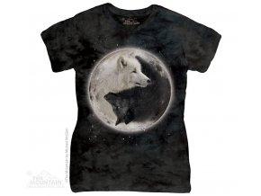 Dámské Tričko Yin Yang Vlci