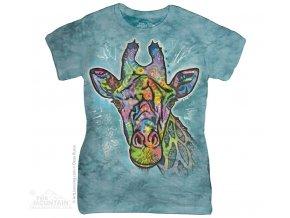 Dámské Tričko Žirafa - Dean Russo