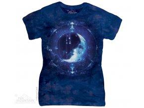 Dámské Tričko Měsíční Tvář