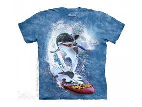 Tričko Žralok na Serfu - Dětské