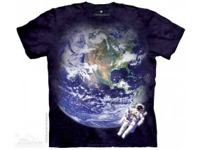 Tričko Země z Vesmíru - Dětské