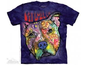 Tričko Láska k Pit Bullovi - Dean Russo