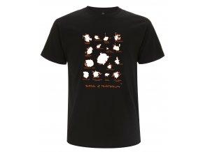 Tričko Bobky Australských Ptáků Černé