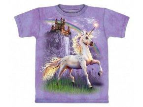 Tričko Zámek jednorožce -Dětské