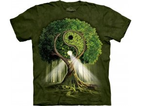 Tričko Yin-Yang Tree