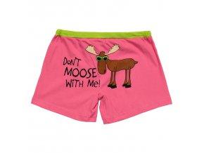 Dámské Trenky s Losem - Don't Moose With Me!
