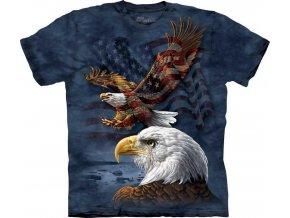 Tričko Americká orlí koláž - 2017