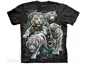 Tričko Majestátní Bílí Tygři - 2017