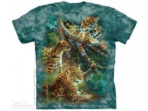 Dětské Tričko Tři Kočky z Jungle