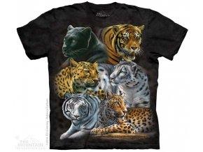 Dětské Tričko Velké Kočky