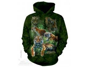 Mikina Tygři Jungle