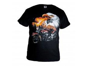 Tričko Orel + Motorka červená