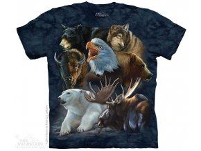 Tričko Divoká Aljaška