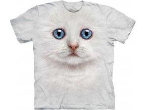 Tričko Tvář Slonovinová Kočka - Dětské