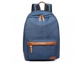 Unisexový Školní Batoh Modrý