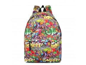 Stylový Školní Batoh Graffitty