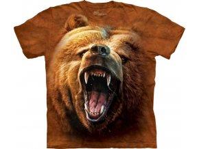 Tričko Tvář Řvoucího Medvěda - Dětské - 2017