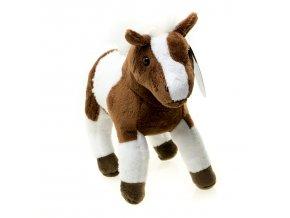 Plyšák Hnědobílý Kůň