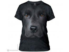 Tričko Černý Labrador Dámské