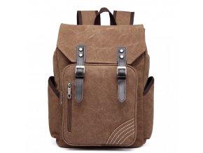 Pánský batoh na 14/15 palcový notebook - hnědý