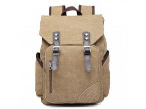 Pánský batoh na 14/15 palcový notebook - khaki