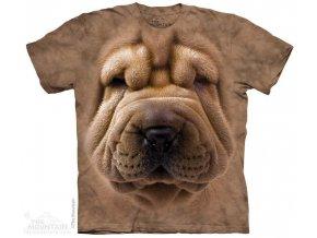 Tričko s potiskem štěnátka šarpej