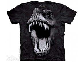Tričko s potiskem svítící rex