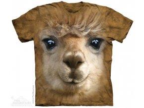 Tričko s potiskem lama