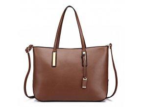 Luxusní kabelka - hnědá