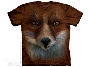 Tričko s potiskem liška