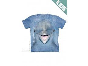 Tričko s potiskem delfína - Dětské - 2017