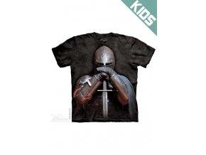Tričko s potiskem rytíř - Dětské