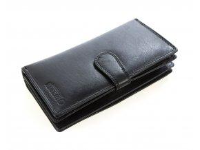Pánská velká peněženka - Černá