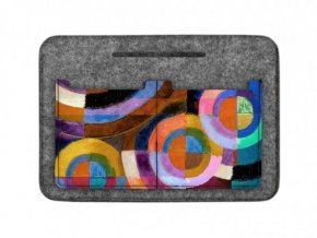 Organizér do kabelky - Kruhy